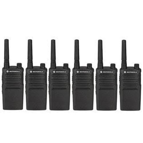 Motorola RMU2040 2 Watt 4 Channel UHF Two Way Radio, Pack of Six