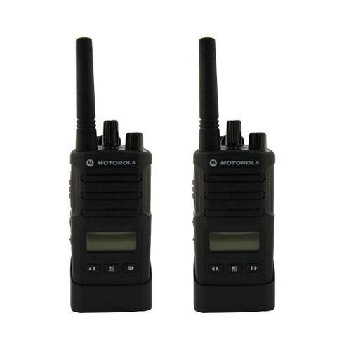 Motorola RMU2080d 2 Watt 8 Channel UHF Business Two Way Radio 2 Pack