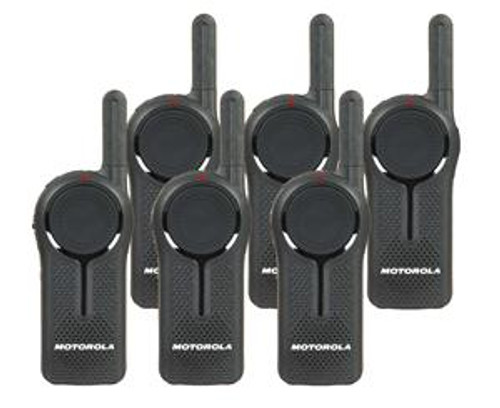 Motorola DLR1020 Digital Two Way Radio Six Pack