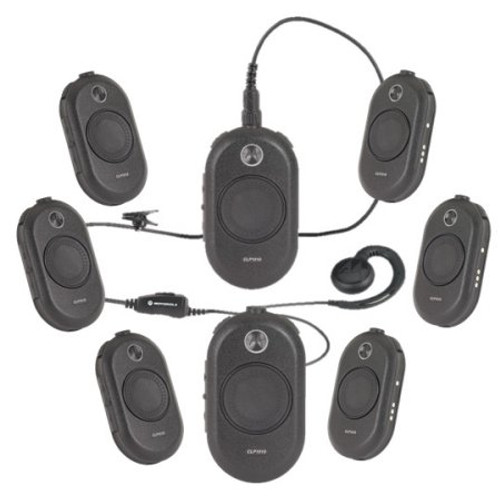 Motorola CLP1010 UHF Two Way Radio 8 Pack Bundle