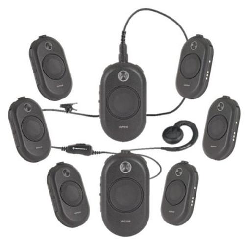 Motorola CLP1010 UHF Two Way Radio 8 Pack Bundle