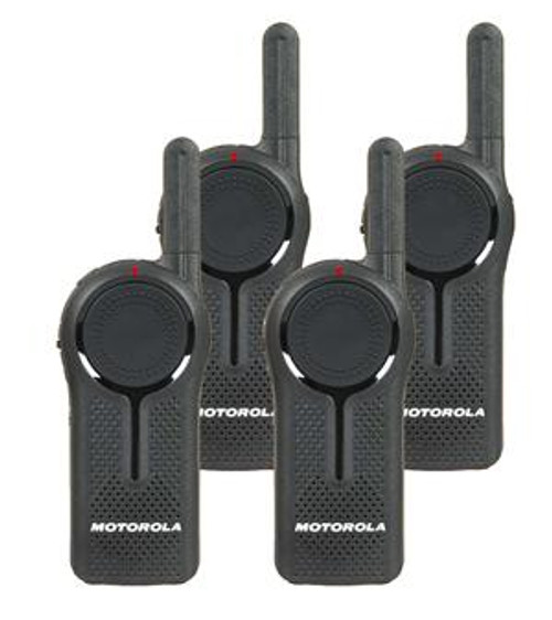 Motorola DLR1060 Digital Two Way Radio Pack of 4