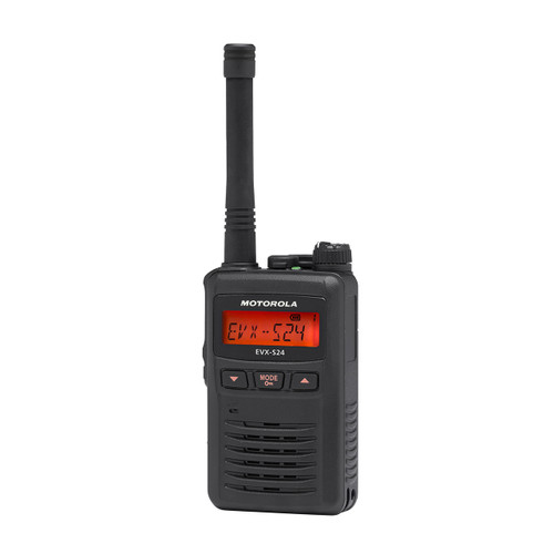 Motorola EVX-S24 Digital UHF Two Way Radio