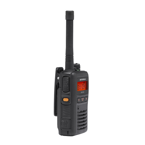 Motorola EVX-S24 UHF Two Way Radio Digital or Analog Capable