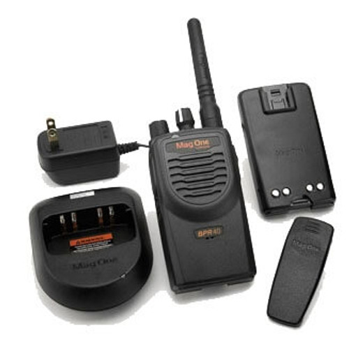 Motorola Mag One BPR40 16 Channel VHF Walkie Talkie