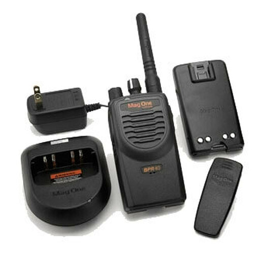 Motorola Mag One BPR40 VHF 8 Channel Walkie Talkie