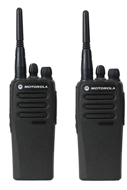 Motorola CP200d Digital UHF Two Way Radio 2 Pack