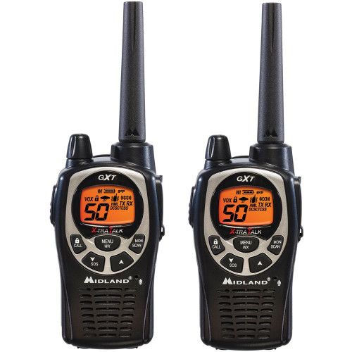 Midland GXT1000VP4 50 Channel GMRS Two Way Radios