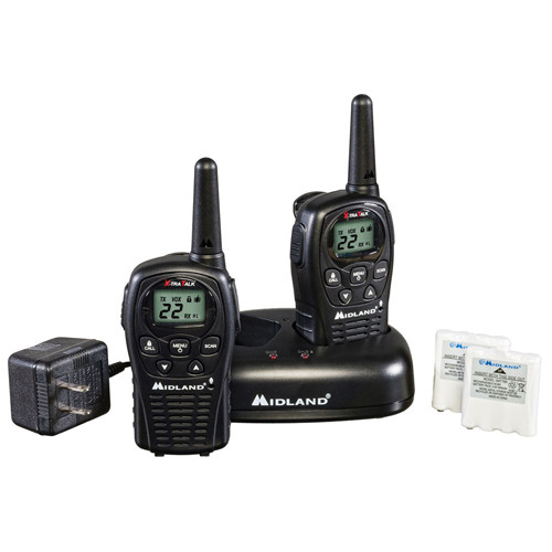 Midland LXT500VP3 FRS Walkie Talkies