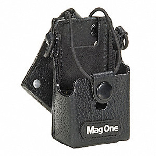 Motorola PMLN4742 Leather Carry Case for Motorola MagOne BPR40 Series two way radios