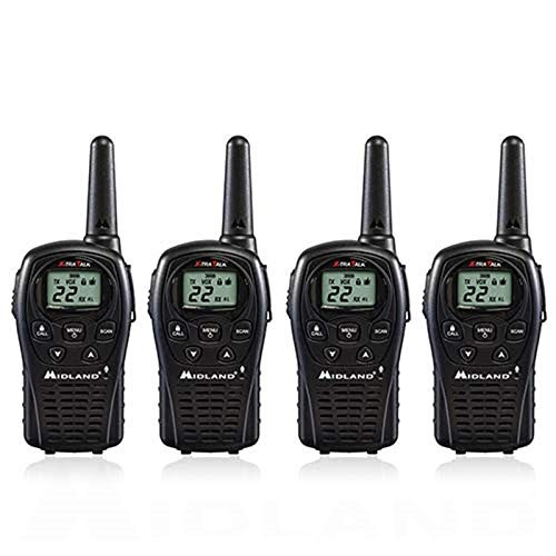 Midland LXT500VP3 4 Pack of FRS walkie talkies