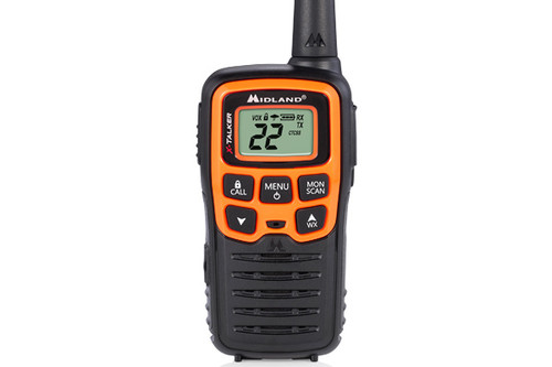 Midland T51VP3  FRS Walkie Talkie Front View