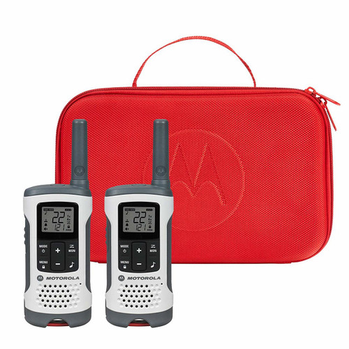 Motorola T280 Talkabout Emergency Preparedness Ready Walkie Talkies