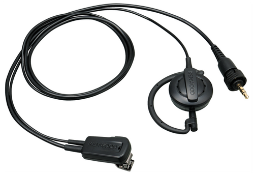 Kenwood EMC-14W Clip Microphone with Earpiece