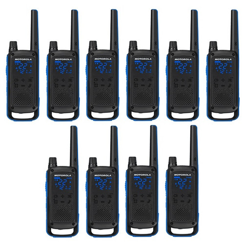 Motorola Talkabout T800, 10 Pack