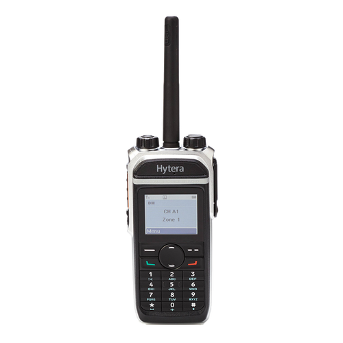 Hytera PD682i Digital Two Way Radio with Display offered in both UHF and VHF models