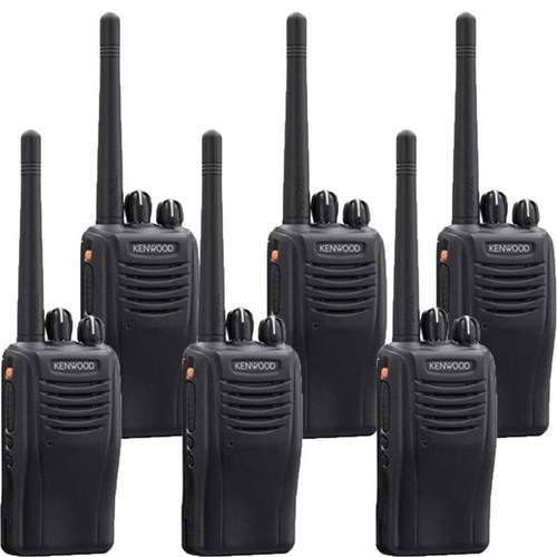 Kenwood TK-3360ISU16P 5 Watt 16 Channel Intrinsically Safe Two Way Radio, Pack of 6