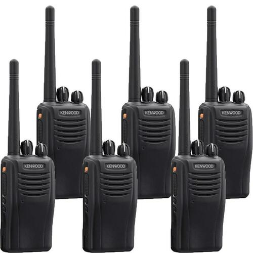 Kenwood TK-3360ISU16P 5 Watt 16 Channel Intrinsically Safe Two Way Radio, Pack of 6