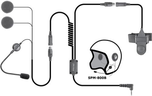 """Pryme """"Highway"""" SPM-803 Highway Motorcycle Helmet Microphone"""