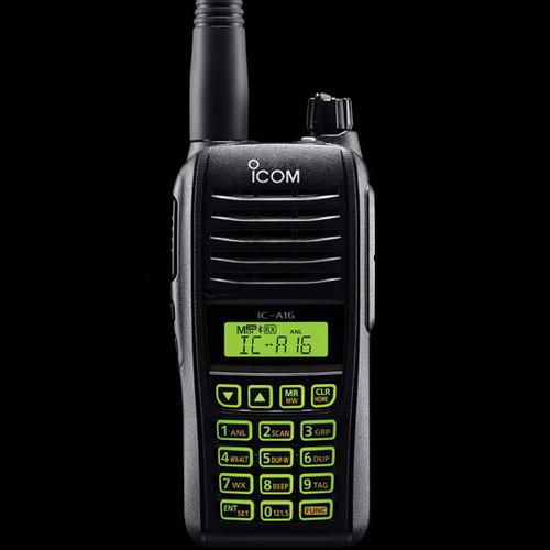 ICOM A16 VHF AirBand Walkie Talkie