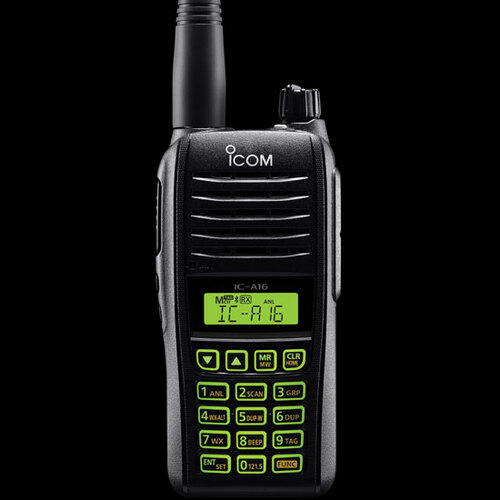 ICOM A16 VHF AirBand Walkie Talkie