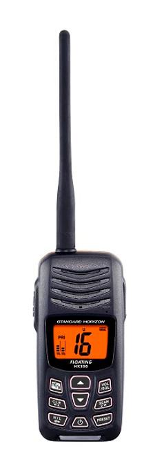 Standard Horizon HX300 Floating Compact Marine Radio
