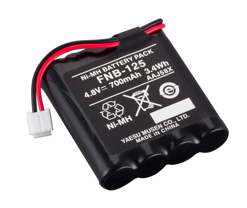 Standard Horizon FNB-125 Nickel Metal Hydride Battery