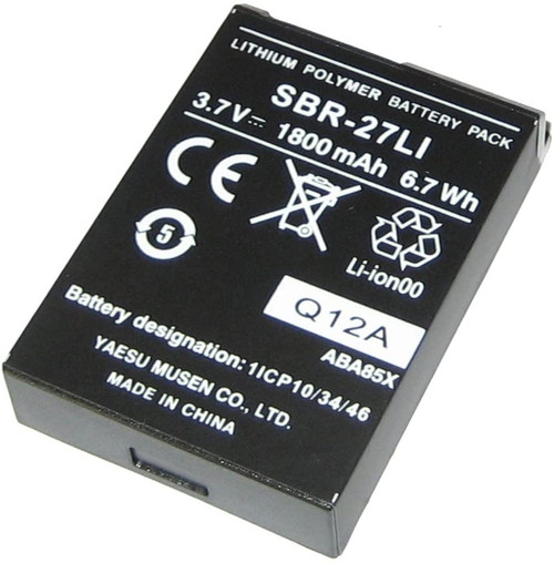 Standard Horizon SBR-27LI Lithium Ion Battery for Standard Horizon HX300 VHF Marine Handhelds