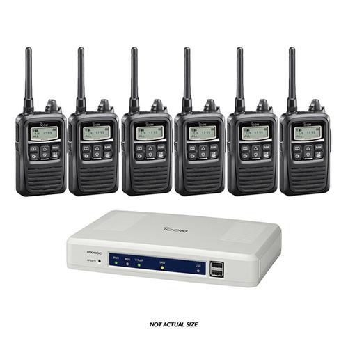 ICOM IP100H Wi-Fi Radio Starter Kit