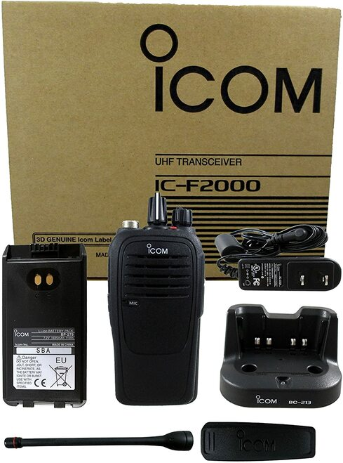 ICOM F2001 4 Watt Waterproof walkie talkie