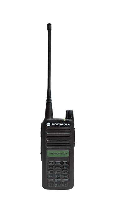 Motorola CP100d Digital Two Way Radio with Full Key Pad