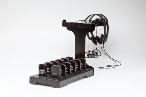 Listen Technologies LA-382 Intelligent Cable Management Unit organizes headsets