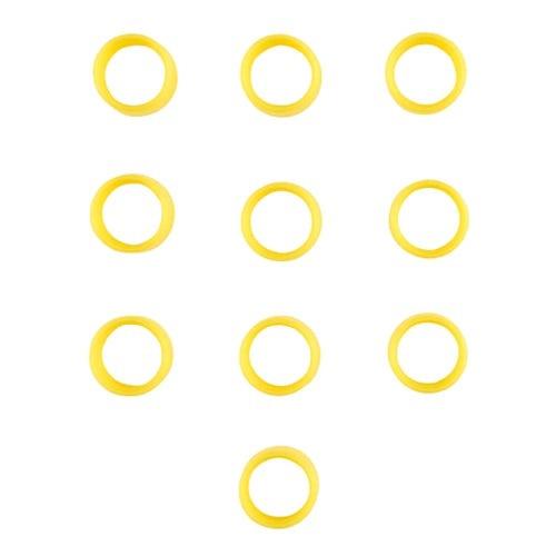 Motorola 32012144002 Yellow Antenna Bands, Pack of 10