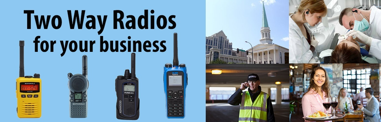 Two Way Radios will benefit your industry!  Call us to learn more!