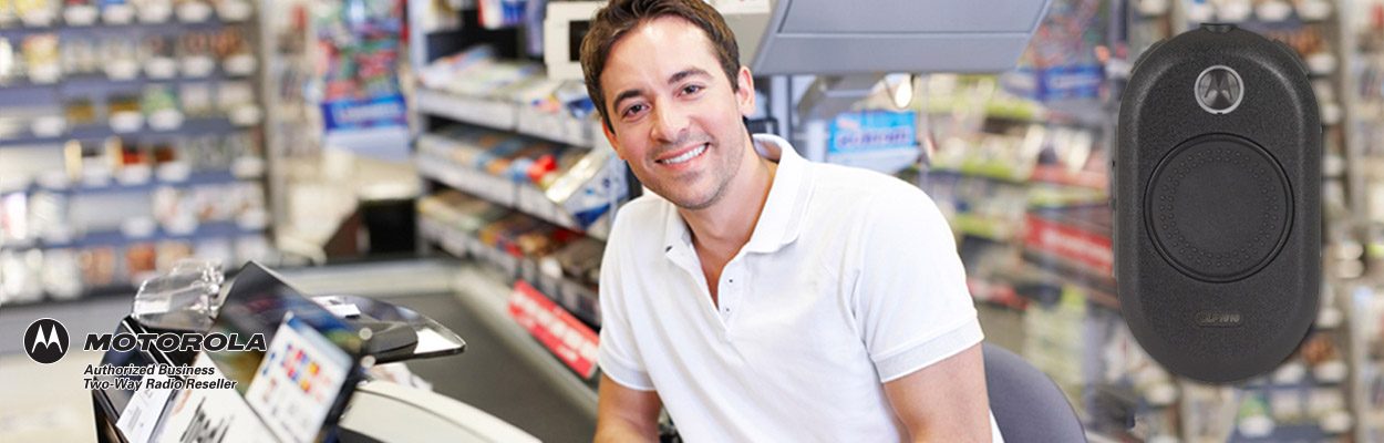 Convenience stores use two way radios to improve employee productivity