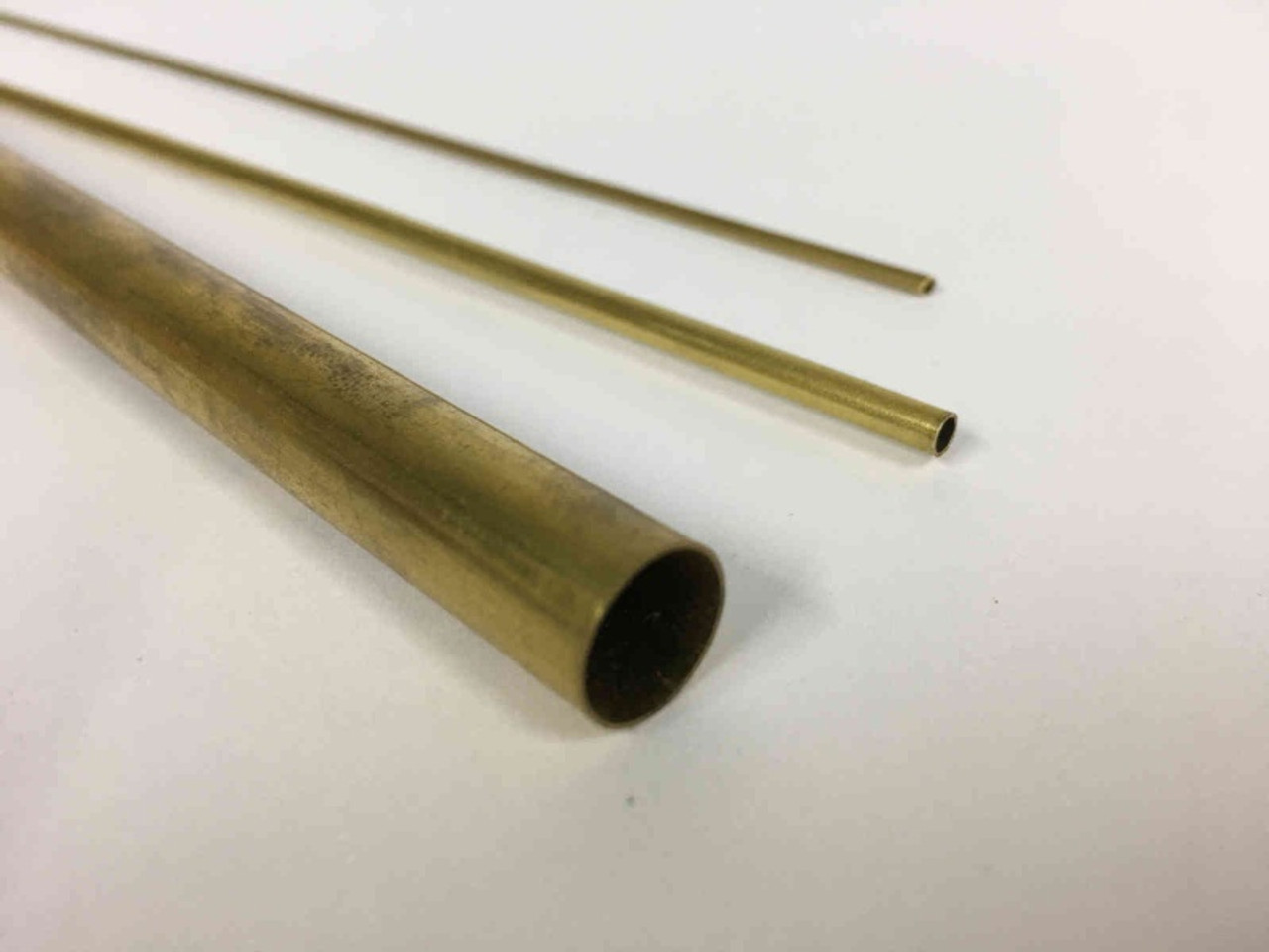 Round Brass Tube 2mm OD