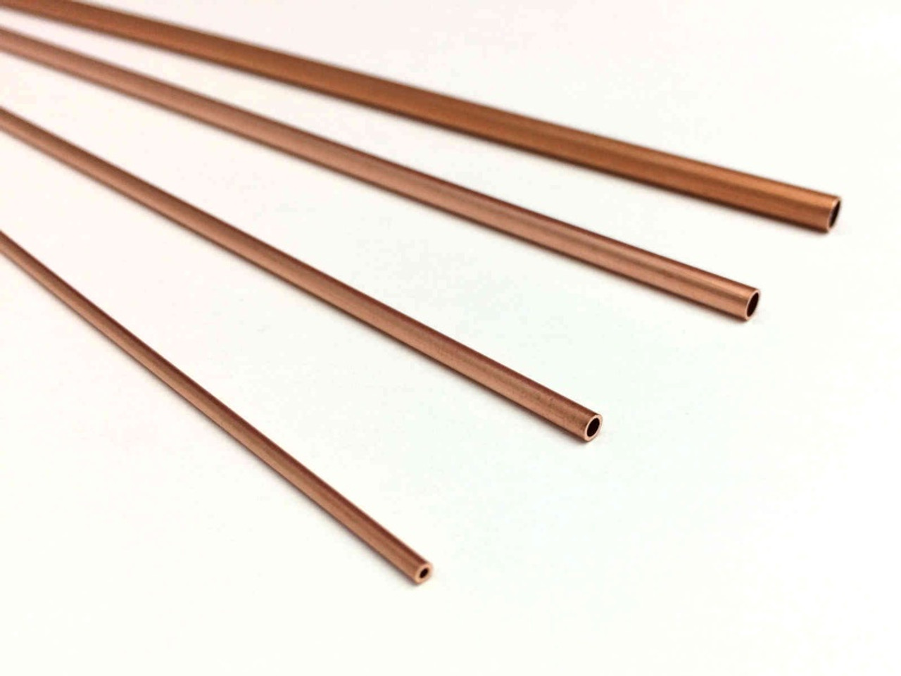 Round Copper Tube 3-32 Inch OD