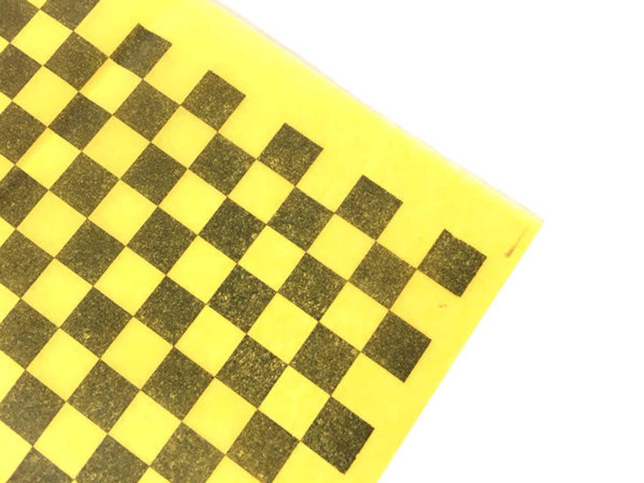 Esaki Japanese Tissue - Yellow & Black Check
