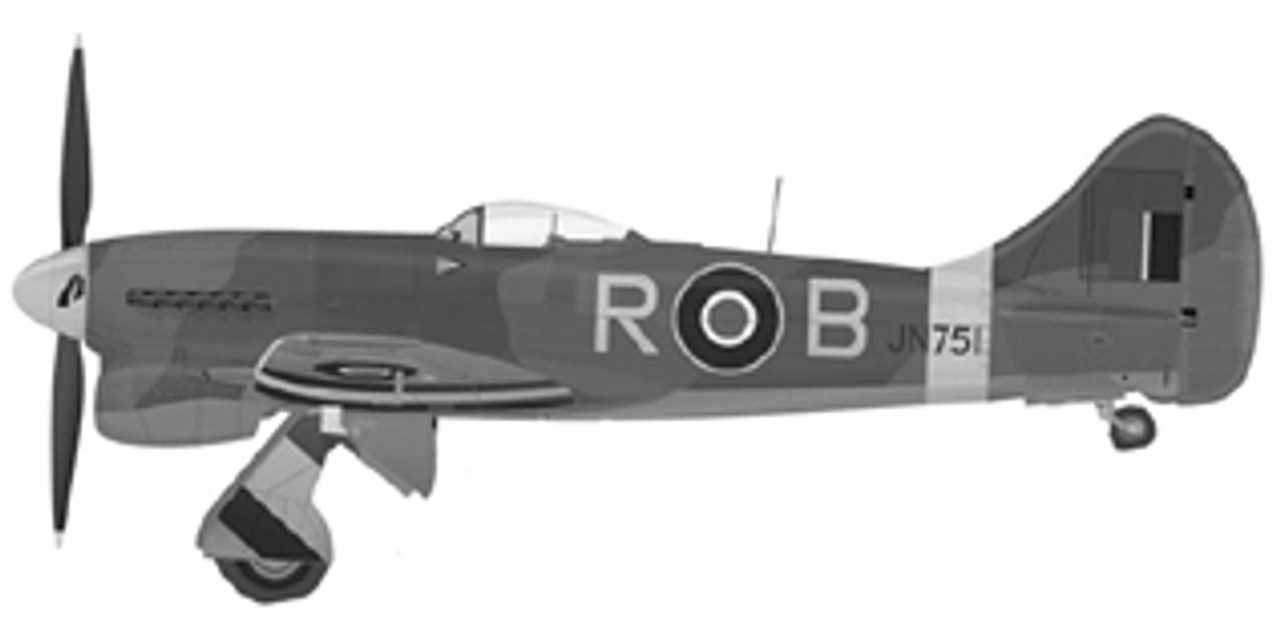 KK Hawker Tempest Large Scale