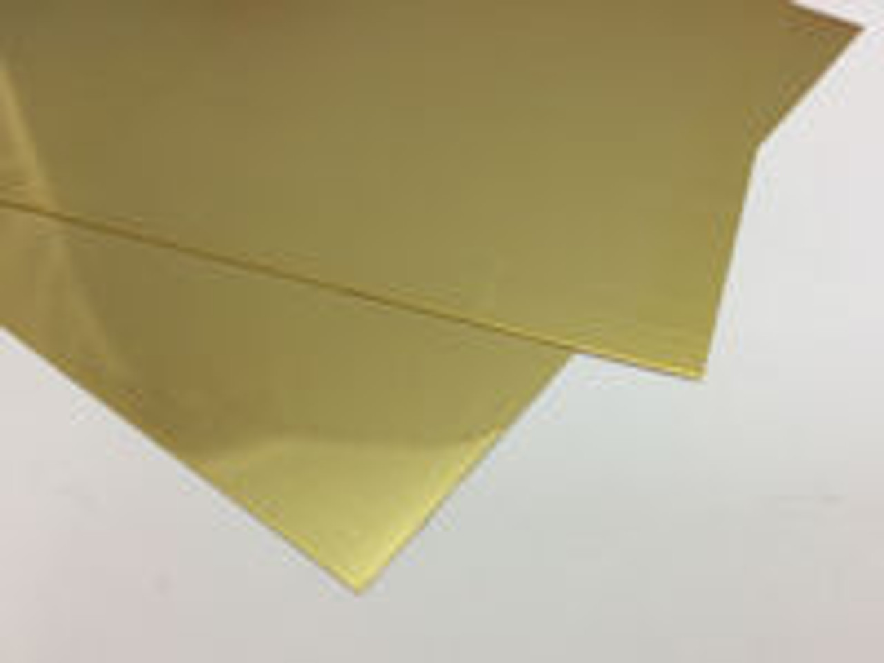 "Brass Strip 1"" by 0.032"""