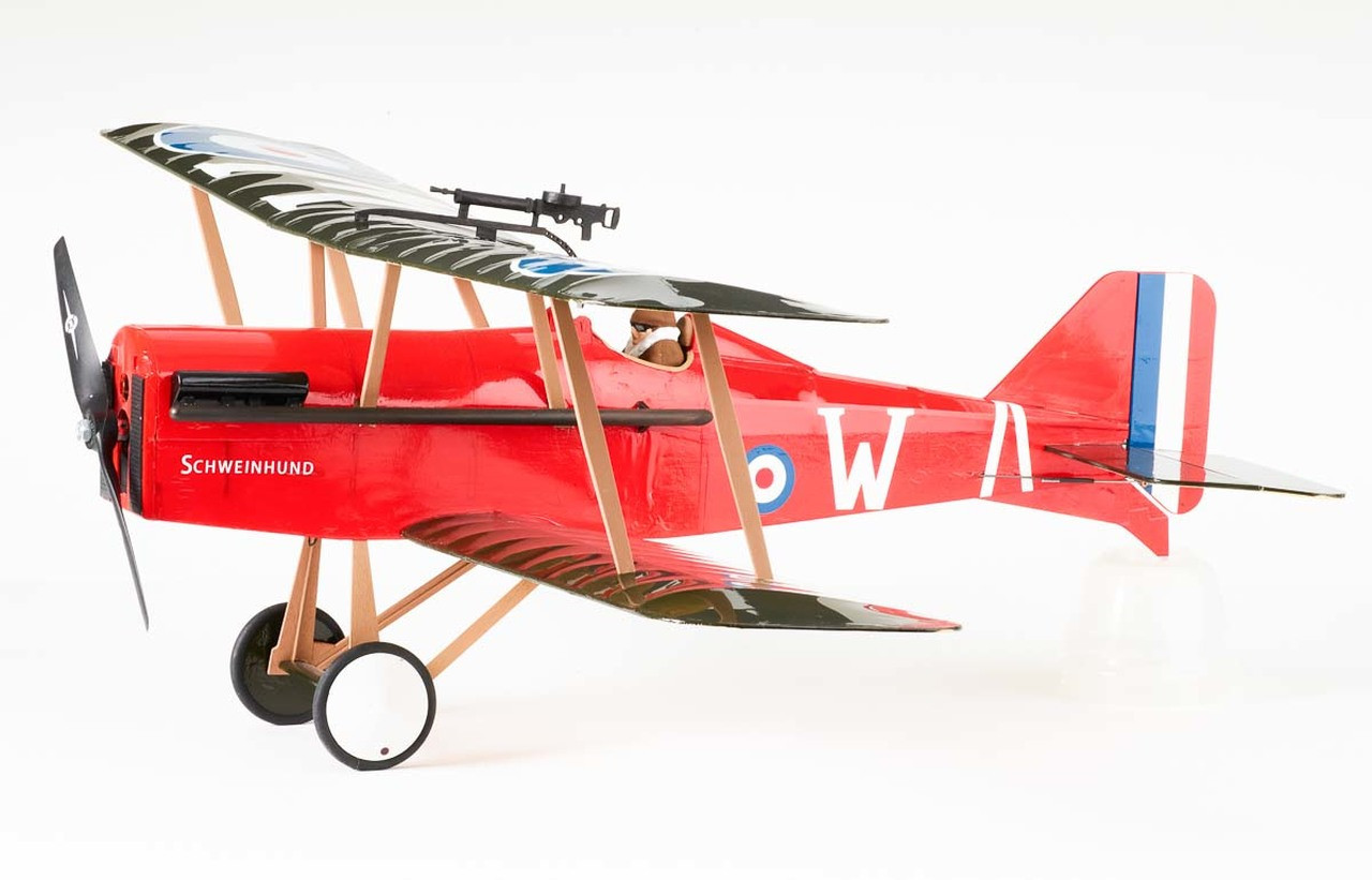 24 Radio Controlled Se5a Ww1 Fighter Kit The Vintage Model Company