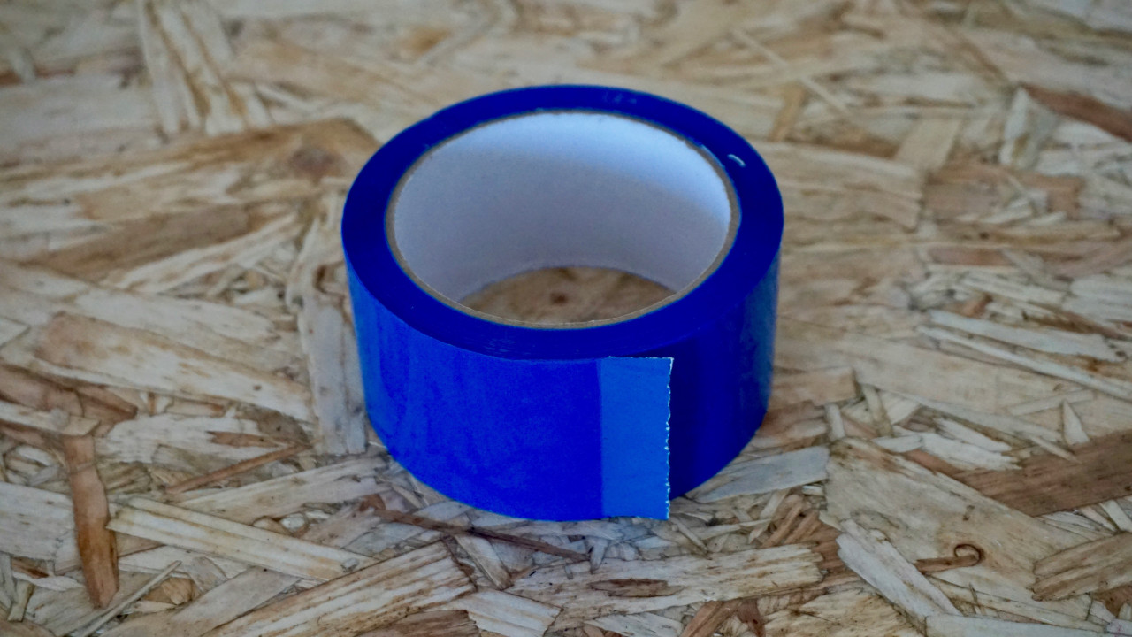 Easy Covering Tape - Bright Blue