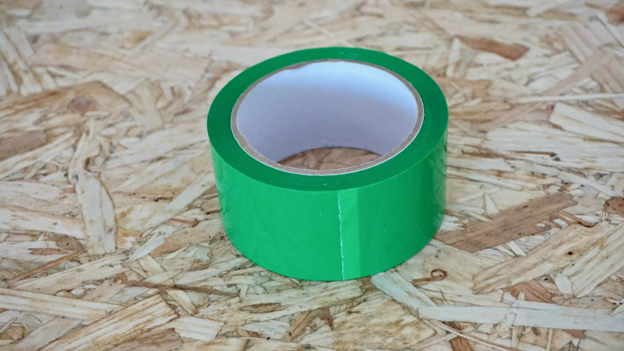 Easy Covering Tape - Bright Green