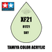 Tamiya Mini XF-21 Flat Sky 10ml Acrylic Paint
