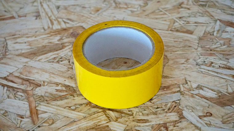 Easy Covering Tape - Cub Yellow