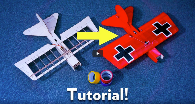 How To Cover a Model With Tape