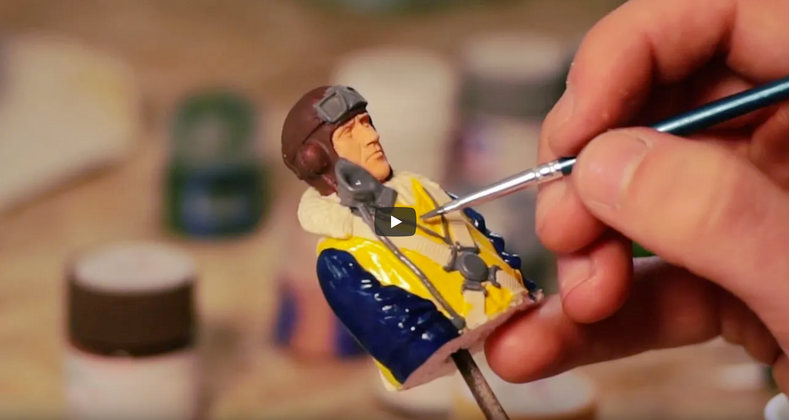 How To Paint a Dave Banks Scale Pilot Figure