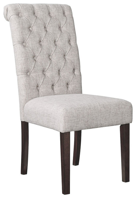Adinton Reddish Brown Dining Upholstered Side Chair (Set of 2)