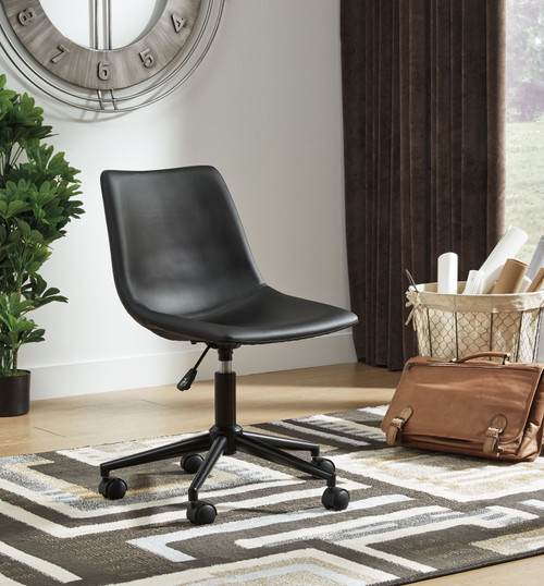 Office Chair Program Black Home Office Swivel Desk Chair