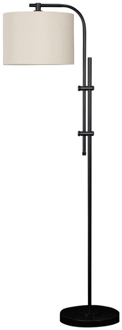 Baronvale Black Metal Floor Lamp (1/CN)